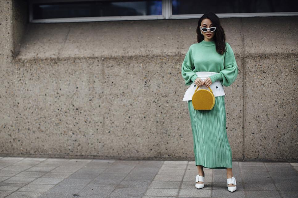 street-style-fashion-week-londres-look-verde-claro