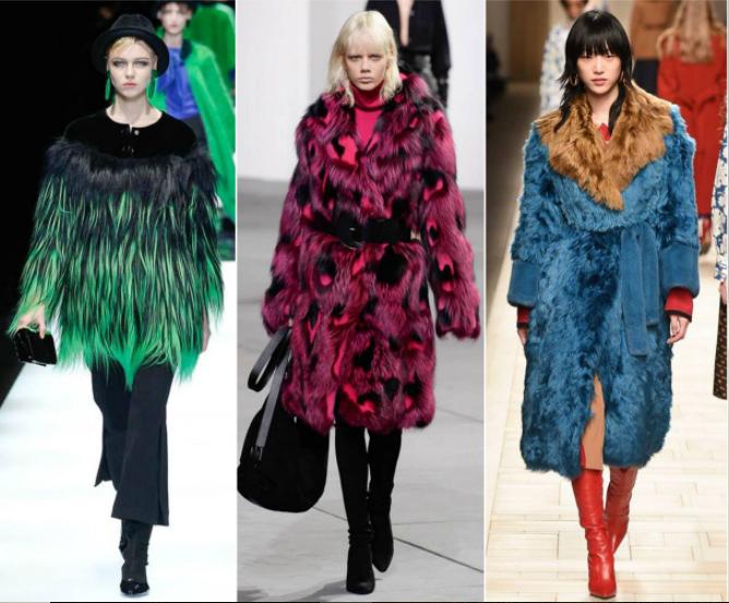 tendencias-da-moda-no-outono/inverno-2018-casaco-de-pele-colorida