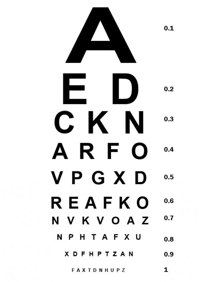 exame de vista completo