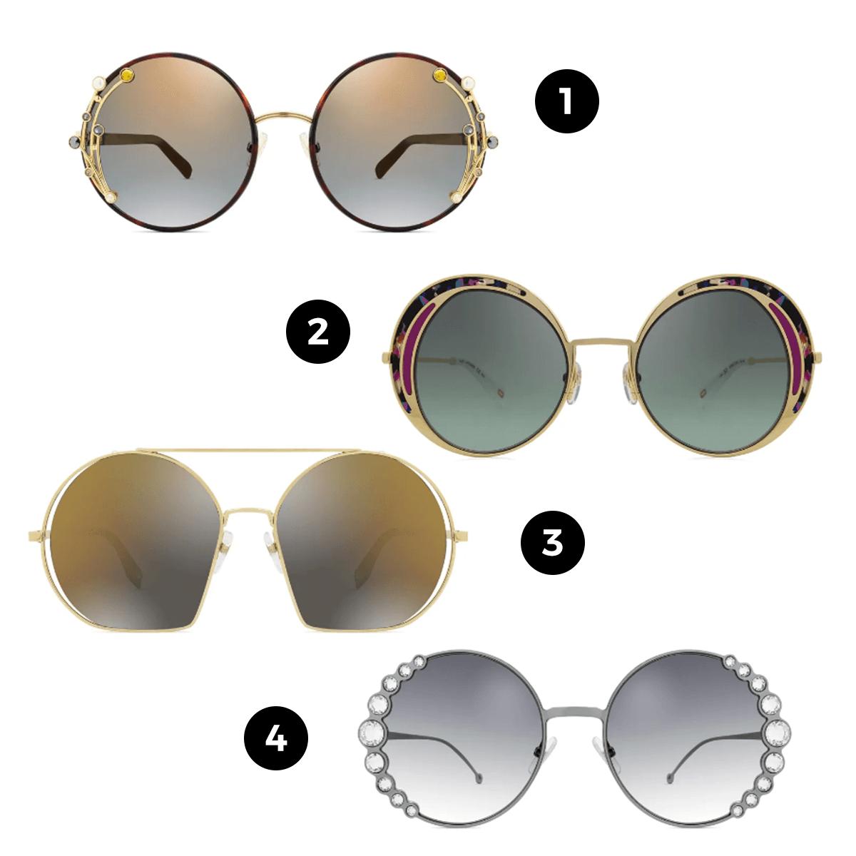 óculos redondo como usar