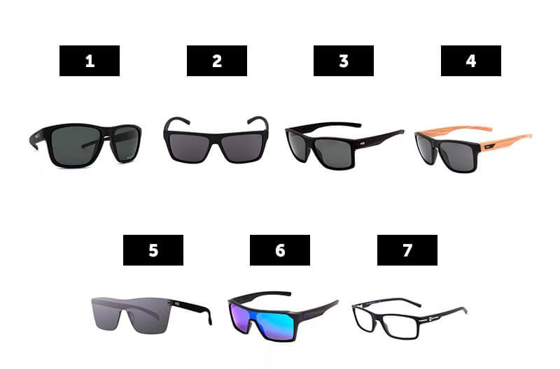óculos de sol modelos hb