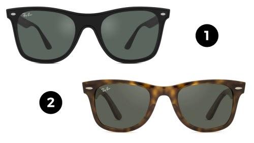 oculos clássicos ray ban - modelos wayfarer