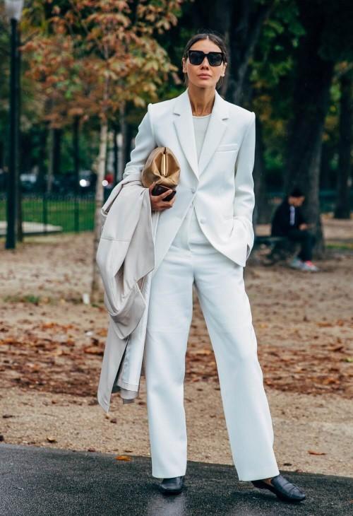 cores da moda 2020 - brilliant white