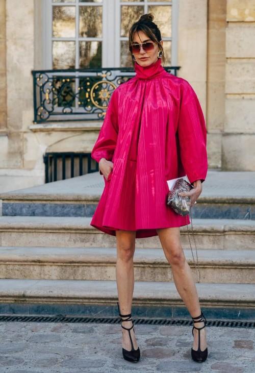 cores da moda 2020 - hot pink
