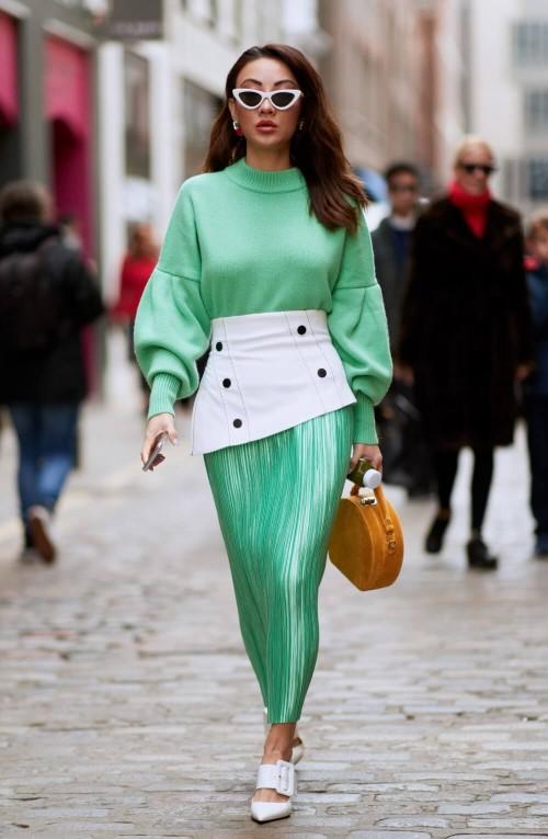 cores da moda 2020 - neo mint