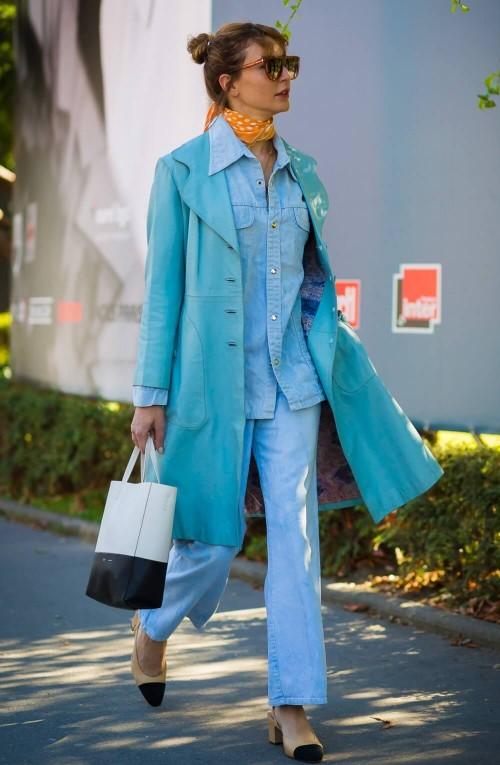 cores da moda 2020 - purist blue