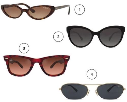óculos minimalistas coloridos - officina 7