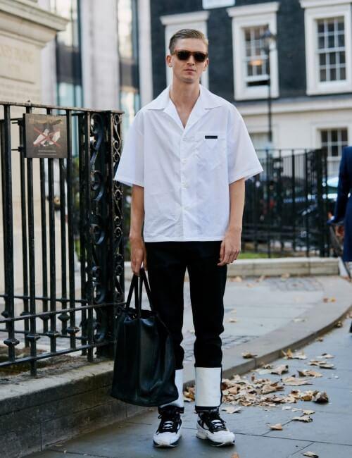 peças básicas - camisa branca