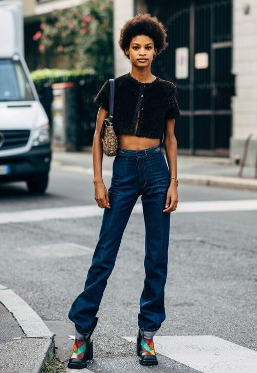 peças básicas - calça jeans